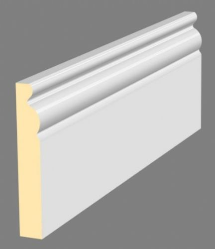 094 x 019 x 4.4MT PRIMED MDF MOULDED ARCHITRAVE / SKIRTING